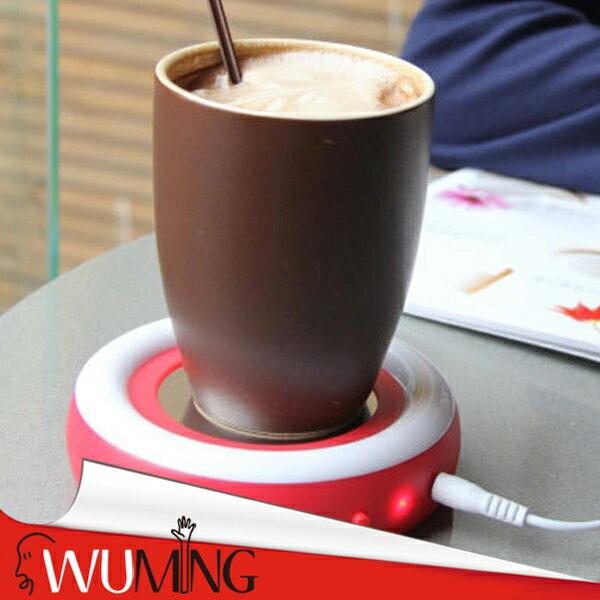 『無名』USB保溫碟保溫杯墊電熱杯墊加熱杯墊暖奶器暖杯器暖杯墊恆溫茶咖啡牛奶M11109