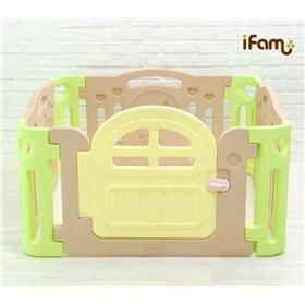 【本月破盤8折】韓國【Ifam】 BaBy Room 遊戲圍欄 (駝色) 0