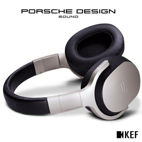 ◤官網登錄 限時贈送 造型隨身碟◢ ★Porsche Design聯名款★ 英國 KEF 聯名款 SPACE ONE Wireless【鈦金灰】主動式無線抗噪耳罩式耳機