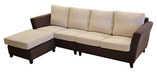【尚品家具】798-06 梵谷半拆式 功能型 L型布沙發組《台中市部分地區免運費》