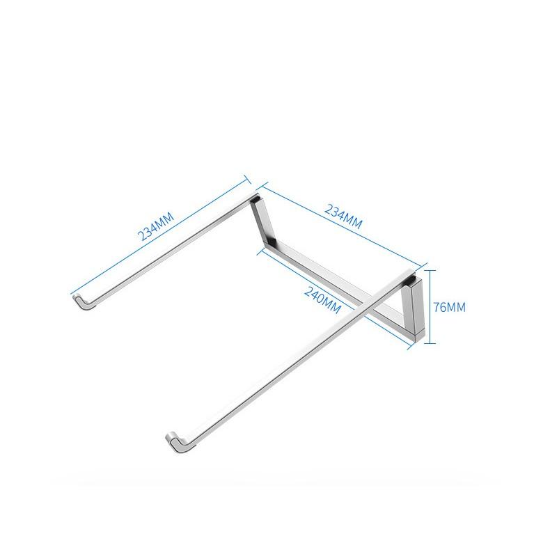 適用於各式筆記型電腦平板散熱支架 便攜式可折疊托架 散熱架 6