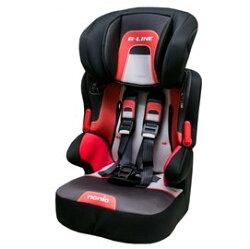 【淘氣寶寶】法國 納尼亞3-12歲成長型安全汽座 紅色 FB00318