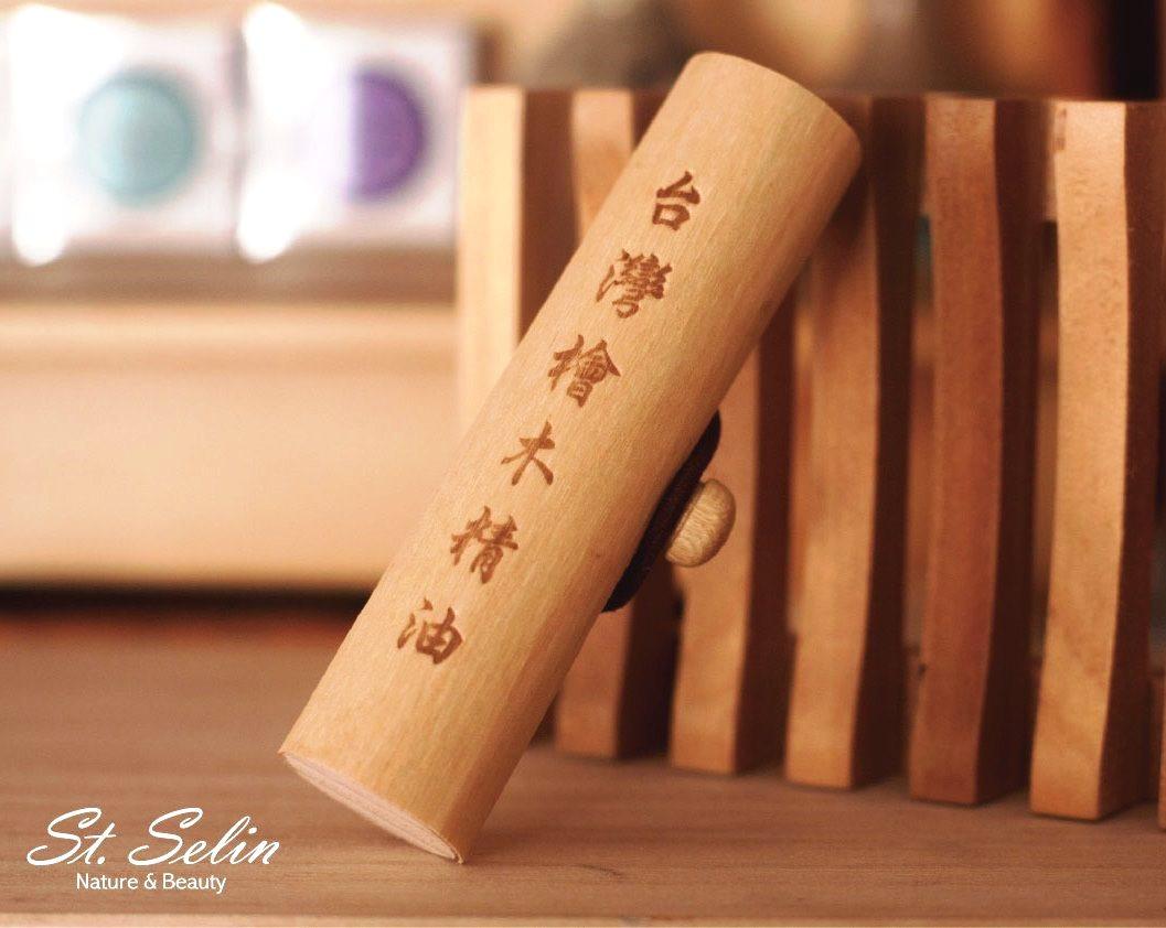 台灣檜木精油木皮盒