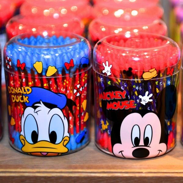 X射線【C003498】日本東京迪士尼代購-唐老鴨 Donald Duck 棉花棒,嬰幼兒/安全/棉花棒/個人清潔/衛生/美妝