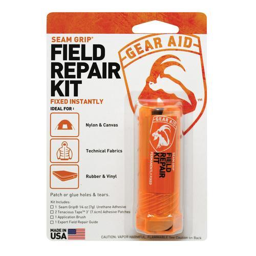 McNETT 隨身戶外修補包/萬用膠+補丁組合 Gear Aid Pad Repair Kit-Seam Grip 10591