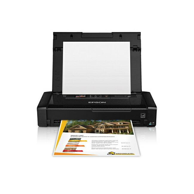 【最後出清下殺*免運】Epson WorkForce WF-100 可攜型A4彩色噴墨行動印表機