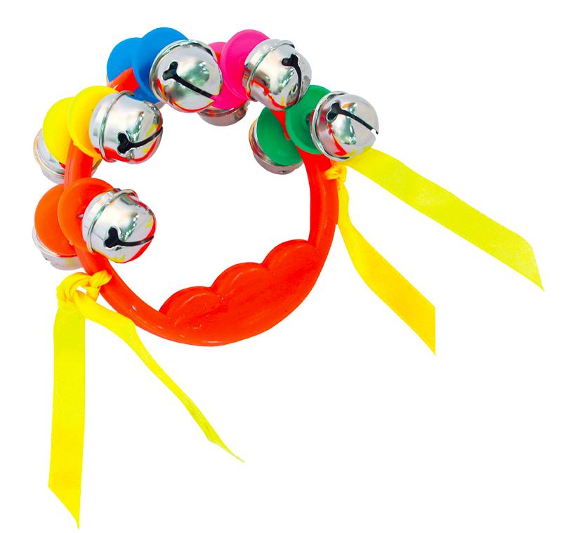 【晴晴百寶盒】台灣製造 手搖鈴五對鈴 手搖鈴音樂 創意樂器 高品質 益智遊戲 樂器送禮禮物禮品 創意兒童早教 W110
