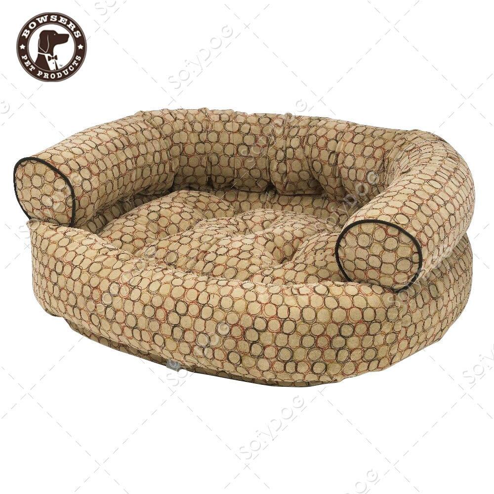 BOWSERS雙層極適寵物沙發床-棕色普普風-M