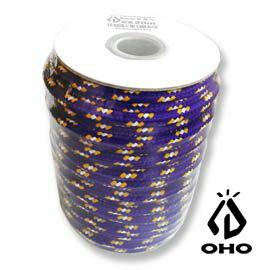 [ OHO ] 多功能耐候6mm營繩 藍橘白 20m / Polyester / GR65BBO-OH20