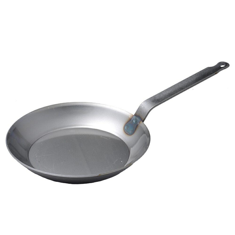 【德國Turk】土克鍋 冷鍛 專業版 碳鋼鍋 鐵鍋 單柄鍋 28cm 66228 德國製 (德國Turk鐵鍋 Turk28cm)