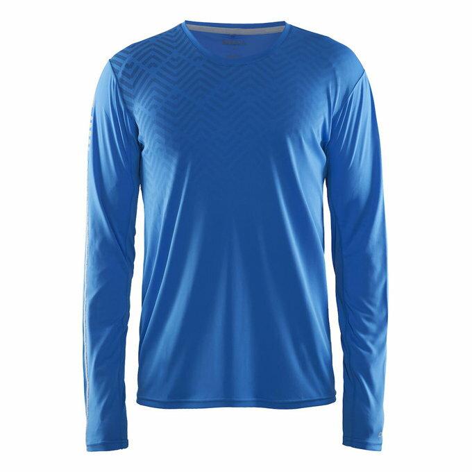 【速捷戶外】CRAFT 1903948 男長袖圓領排汗衣(水藍) ,跑步,路跑,登山,排汗衣