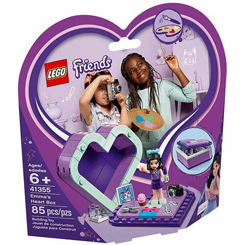 樂高LEGO 41355  Friends 姊妹淘系列 - 艾瑪的心型盒 - 限時優惠好康折扣