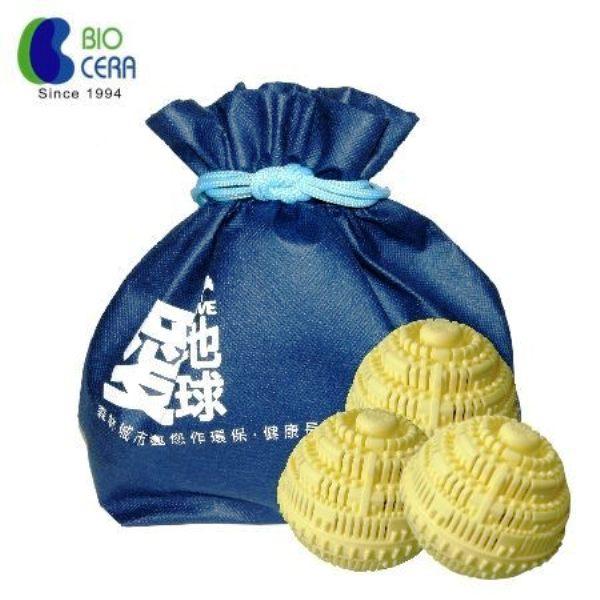 [Biocera]奈米洗衣球-三顆裝 免洗衣精 免洗衣粉 洗6公升 可洗2-3年