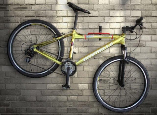 ~意生~掛鉤加大~T型款~壁掛式單車展示架 單車壁掛架 可調角度不掛車時可收折牆壁掛鉤掛鉤
