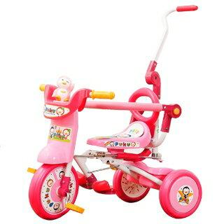 『121婦嬰用品館』PUKU 豪華型輔助三輪車-粉 0