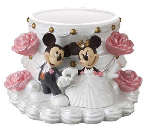 X射線【C713632】米奇Mickey米妮Minnie造型花器-結婚,飾品盒收納盒置物架桌上收納筆筒