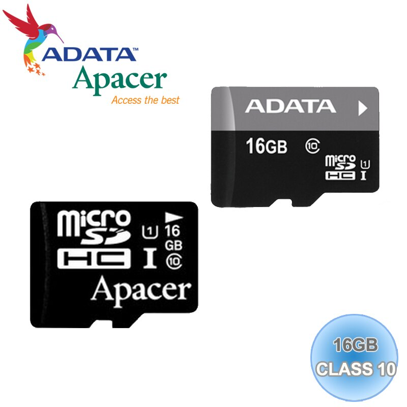 ADATA 威剛/Apacer/SP/Silicon Power廣穎/SanDisk/Micro SD/T-Flash 16G/TF 16G/Class 10 記憶卡 含SD轉卡 隨機廠牌出貨
