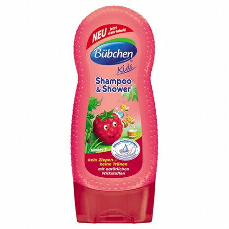 德國【Baan 貝恩】B?bchen  覆盆子洗髮沐浴乳