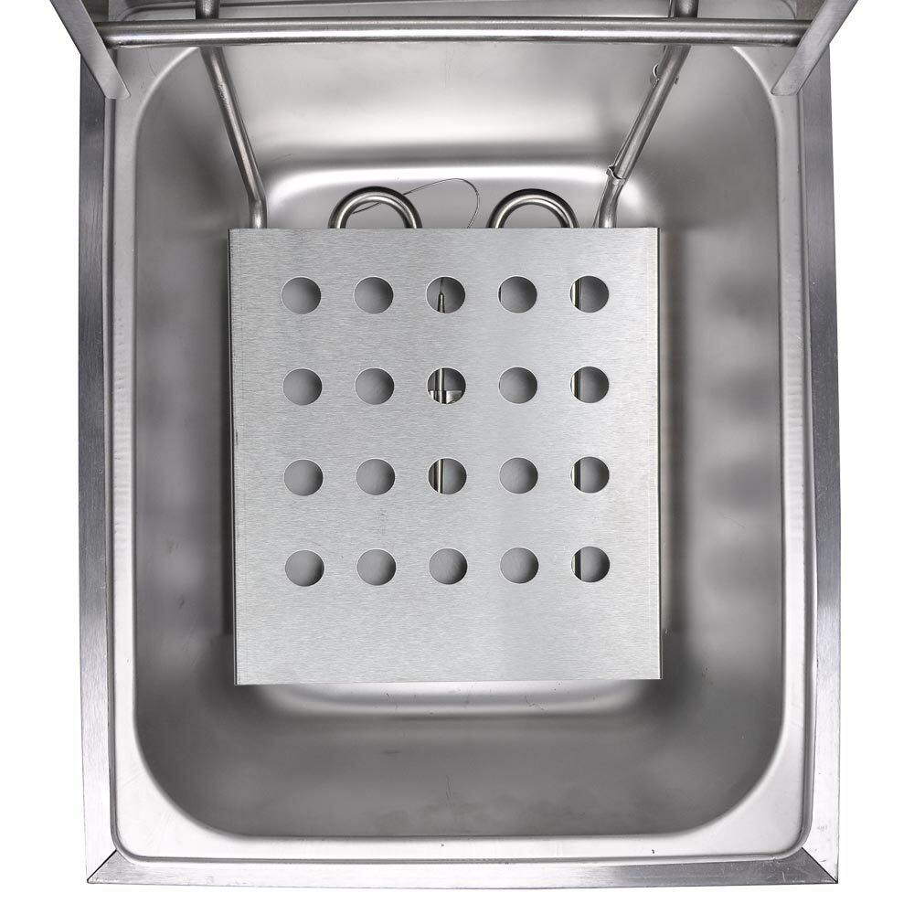 12L Electric Dual Tank Deep Fryer 5000W Commercial Restaurant Kitchen Countertop Equitment 3
