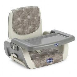 義大利 Chicco - Mode攜帶式兒童餐椅座墊/攜帶型餐椅(波紋灰) 1499元【美馨兒 】