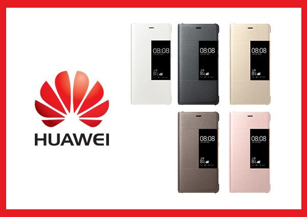Mr ORIGINAL:HUAWEI華為P9Plus原廠無邊開窗皮套(台灣代理商-盒裝)