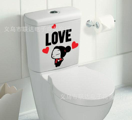 【省錢博士】韓式風格卡通可愛搞笑貼$19元 (可用於廚房/浴室/臥室/牆壁等等)