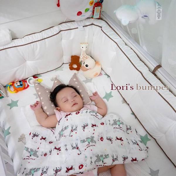飛炫寶寶 【Loris Bumper】長版超厚嬰兒床圍 ※安全首選