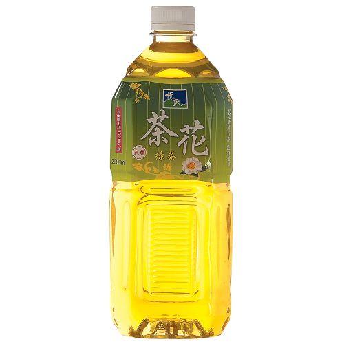 悅氏茶花綠茶2000ml【愛買】
