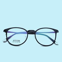 ★眼鏡框圓框眼鏡鏡架-舒適輕巧復古潮流男女平光眼鏡6色73oe40【獨家進口】【米蘭精品】