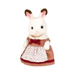 【Fun心玩】EP16911 麗嬰 日本 EPOCH 森林家族 可可兔媽媽 玩偶 玩具 扮家家酒 聖誕 生日 禮物