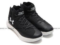 《下殺59折》Shoestw【1298308-001】UNDER ARMOUR CS 3 ZERO UA 籃球鞋 高筒  CURRY 黑色 男生