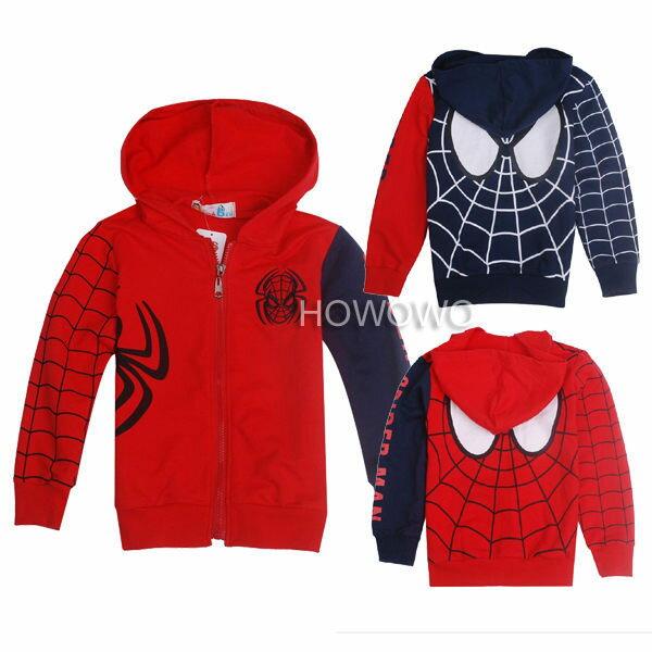 蜘蛛人寶寶薄外套 中大童裝夾克 SK016 好娃娃