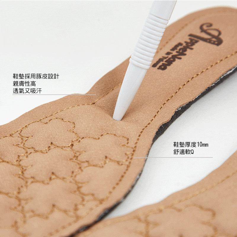 優惠分享。OL必備全真皮完美楦頭素面低跟鞋【QR68711280】AppleNana蘋果奈奈 7