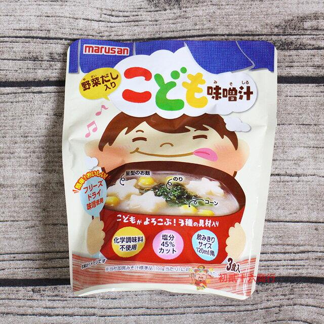 【0216零食會社】日本速食 丸三_兒童3食味噌湯20.1g