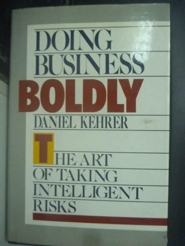 ~書寶 書T5/財經企管_XBO~Doing Business Boldly_Daniel