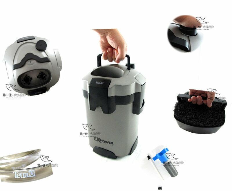[第一佳 水族寵物] 德國德彩Tetra EX POWER[EX-90 (760L/H)] 外置過濾器 免運