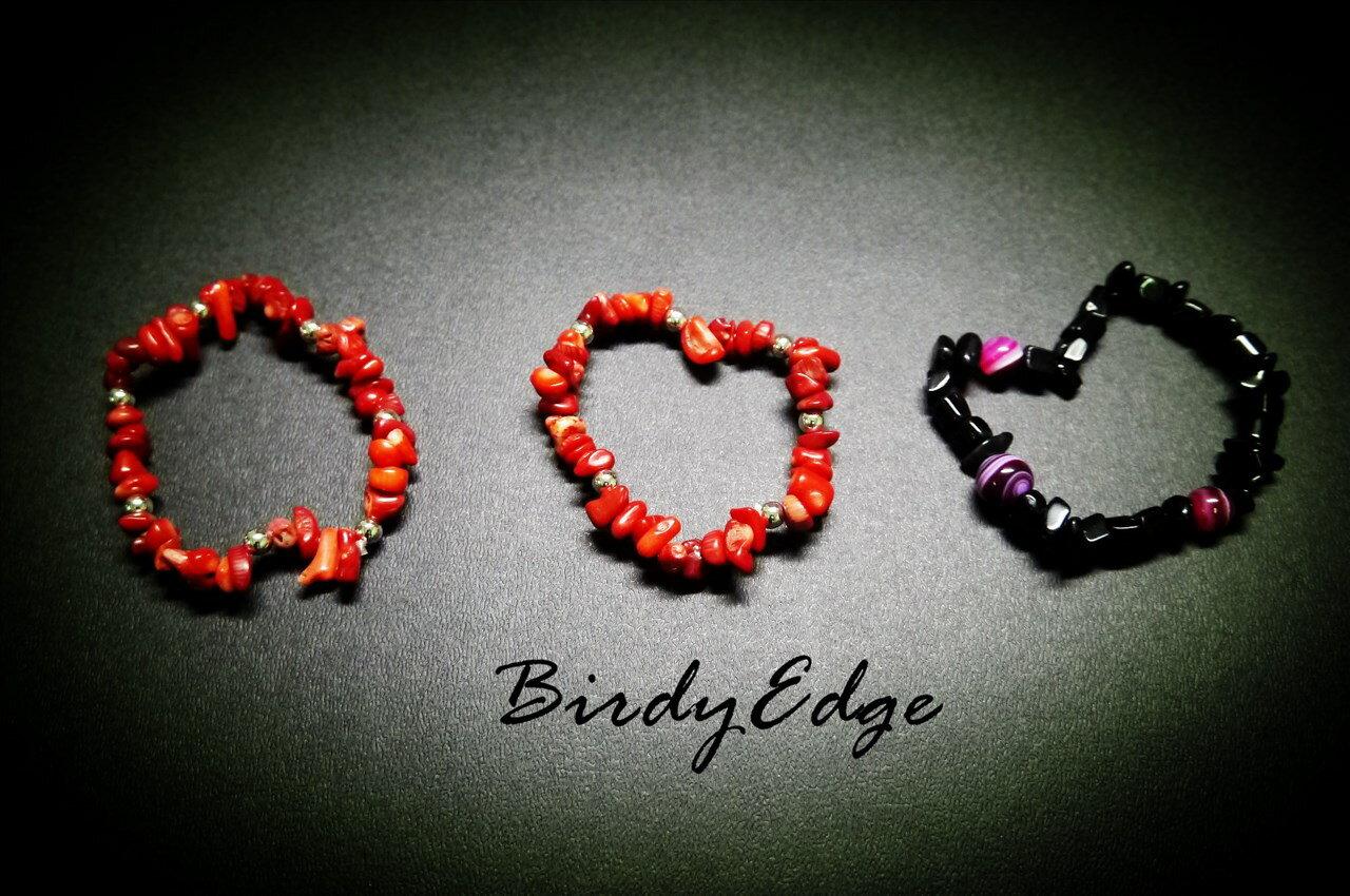 ~Birdy Edge~紅色 小碎石 銀珠 Remix 非 REPUTATION caco