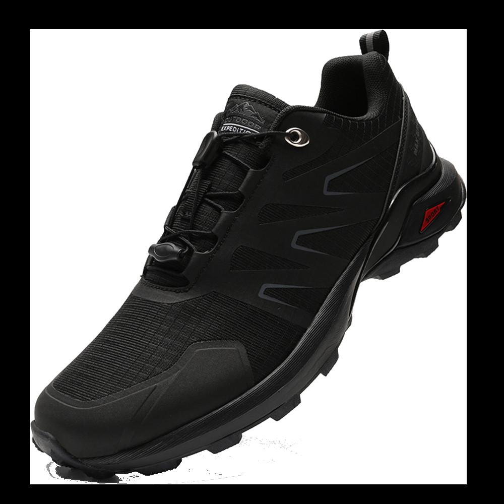 【加大尺碼/防潑水】超透氣運動鞋 滑板鞋 走路鞋 慢跑鞋 大尺碼男鞋-黑/迷彩/黑紅 40-50【AAA6644】