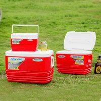 露營冰桶推薦到【買就送冷媒】PINNACLE冰桶組-紅 HK-ER3(57L+33L+11L) 戶外冰桶/露營用/BBQ 贈冷媒三入組就在達益購推薦露營冰桶