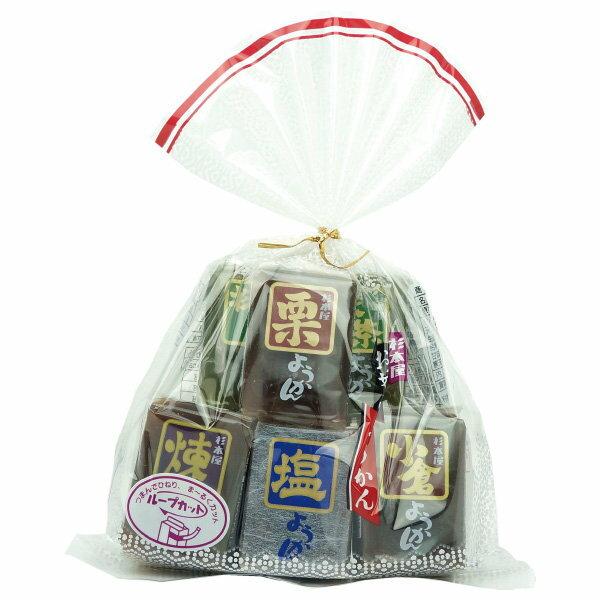 日本五色羊羹360g【櫻桃飾品】【26692】