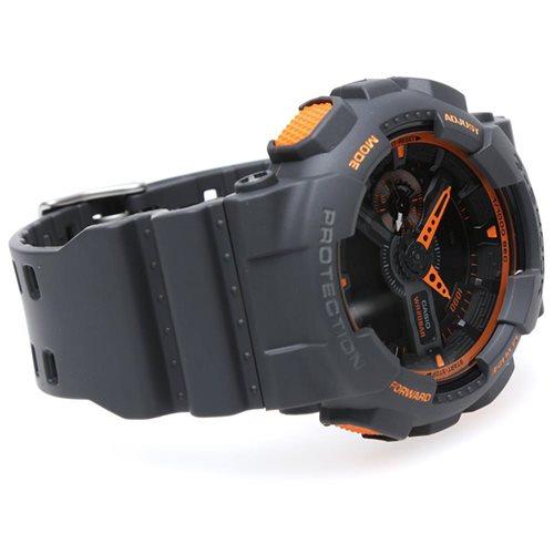 Black Casio G-Shock Analog Digital Watch GA110TS-1A4 2