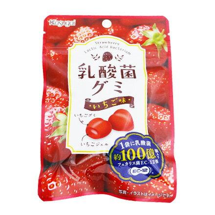 敵富朗超巿:[敵富朗超市]春日井製果乳酸菌草莓牛奶糖(40g)(賞味期限2018.05.24)