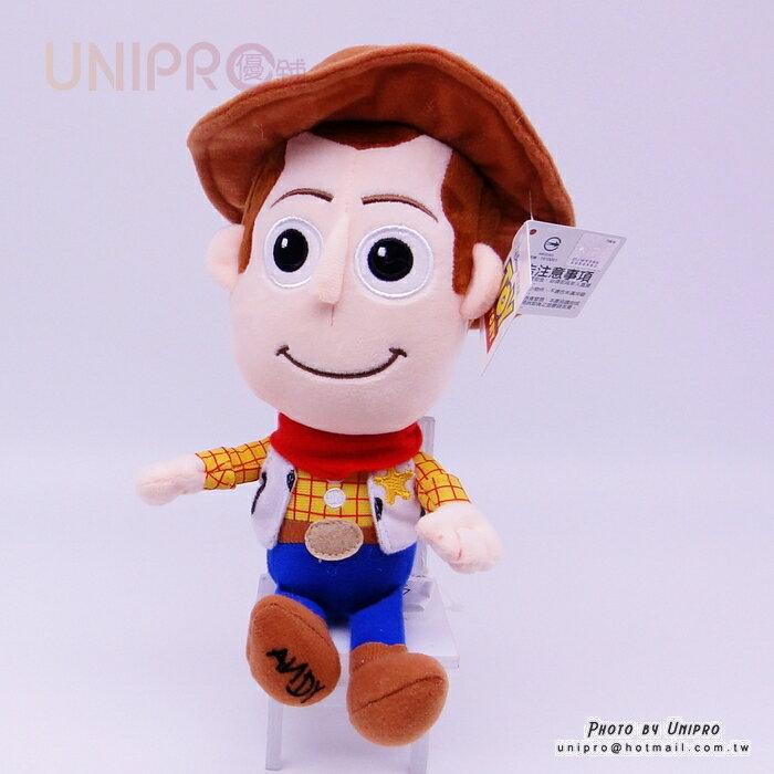 【UNIPRO】迪士尼正版 胡迪 警長 Q版 21公分 絨毛玩偶 娃娃 禮物 WOODY 玩具總動員
