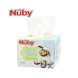 Nuby - 全棉乾濕兩用布巾 100抽