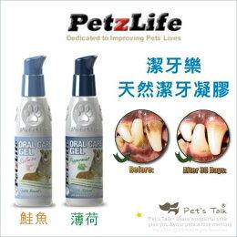 美國Petzlife 天然潔牙凝膠 不用 麻醉洗牙 老犬 無法接受 小型