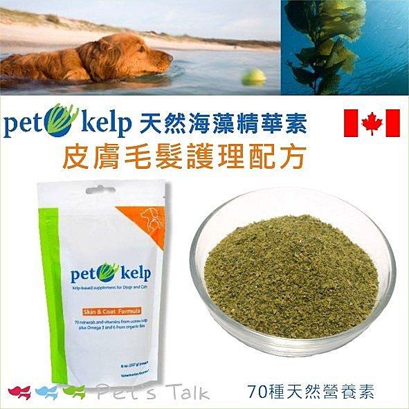 加拿大Pet Kelp天然海藻精華素  皮膚毛髮護理 Pet ^#x27 s Talk