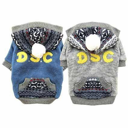 日本DSC圖騰球球針織連帽毛衣 Pet's Talk 0