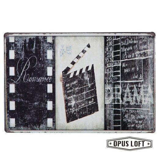 Film復古鐵牌TP-1119