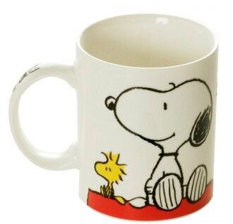 【真愛日本】14121100021 SN新骨瓷馬克杯 史努比 SNOOPY 杯子 馬克杯 陶瓷