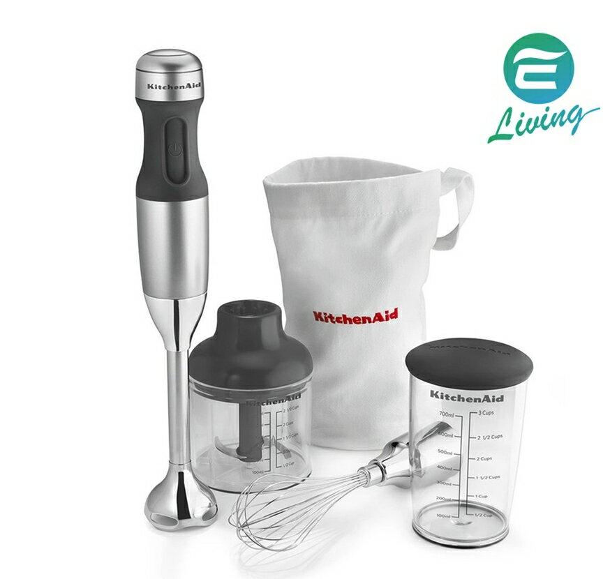 【代購】KitchenAid KHB2351CU 3速手持式攪拌器 附配件 銀色 #24050
